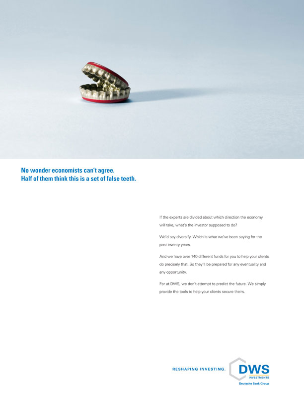 DWS Investments Print Ad